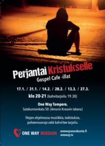 Tampere Perjantai Kristukselle -flyeri